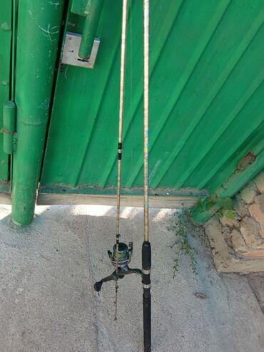 Спорт и хобби - Каинды: Удочка 2.70 прочное подобие крокодила катушка радар 640