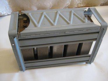 Щелочной аккумулятор на 6 вольт, вроде 5НК-55 или 5НК-125, не знаю в Бишкек
