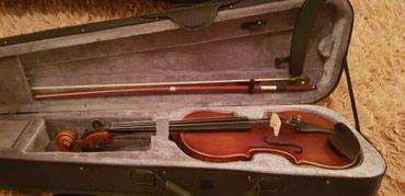 Скрипка возраст 9-12 лет. пользовались 3 в Бишкек