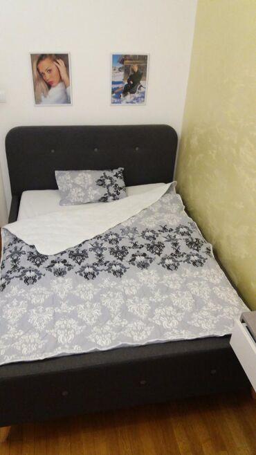 Kuća i bašta - Trstenik: Step deka sa jedne strane dezenirani pamucni materijal,a sa druge