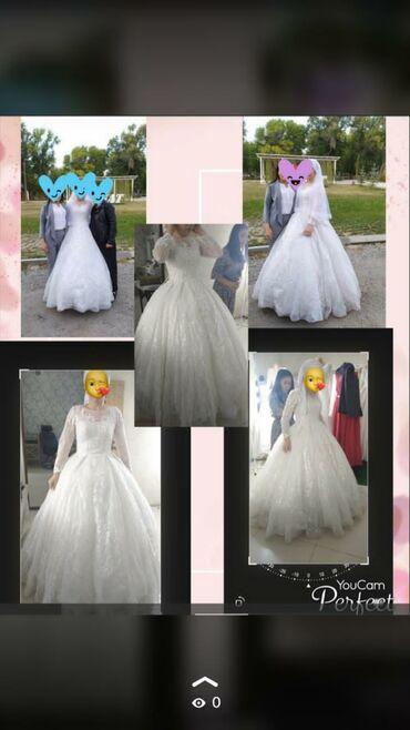 свадебные платья in Кыргызстан   КОНДИТЕРСКИЕ ИЗДЕЛИЯ, СЛАДОСТИ: Продаю свадебное платье 42-46 р