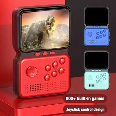 аксессуары meizu m3 note в Кыргызстан: Портативная Игровая Приставка GAME BOX POWER M3 На 900 Игр
