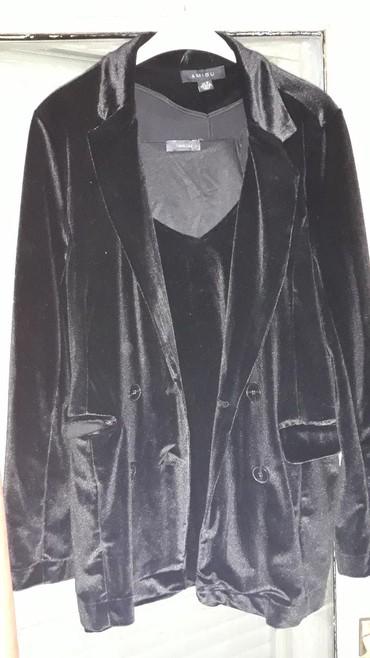 Plisani-cmsirina-ramena - Srbija: Komplet plisani sako i majica 1900 din velicina 40