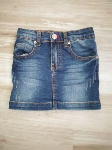 Dečija odeća i obuća - Sopot: Teksas suknjica za devojčice, u super stanju i bez ostecenja