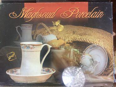 Чайный сервиз шейха и его 5-ти жен (отсутствует одно блюдце)сервиз
