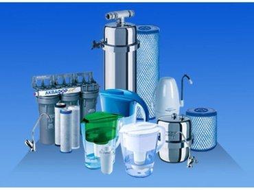 Bakı şəhərində Устанавливаем фильтры для воды.