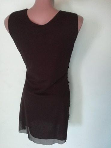 Crna haljina ,materijal rastegljiv vel M/L - Pancevo