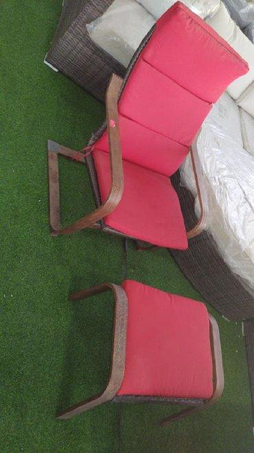 атлант кресло в Азербайджан: Кресло с подставкой для ног.Имеется доставка