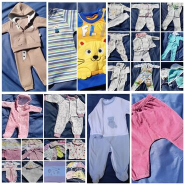детские обувь в Кыргызстан: Пакет вещей для девочки и мальчика- 0-3 мес.- 3-6 мес.- 6-9 мес.- 9-12