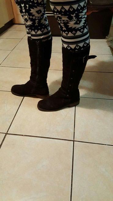 Braon čizme za suvo vreme. Br. 38 - Crvenka