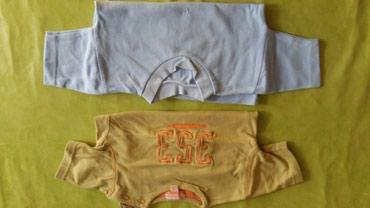 Majice za bebe vel. 12 m,polovne i bez ostecenja,obe za 300din. - Petrovac na Mlavi