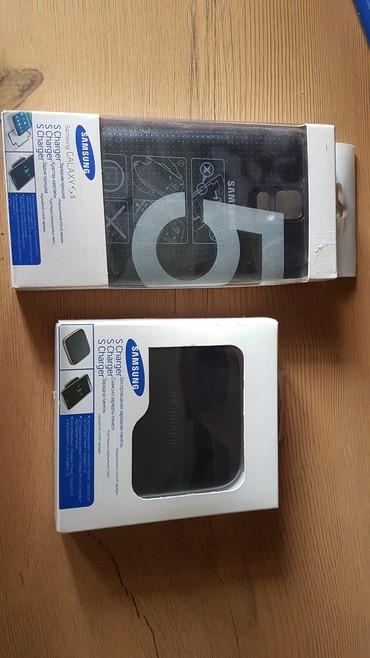 зарядное устройство для телефона samsung в Кыргызстан: Samsung S5 - задняя панель с функцией беспроводной зарядки и сама бес