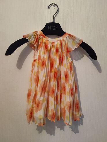 детские платья из шифона в Кыргызстан: Детское воздушное платье на 12-18 месяцев  Baby Gap  Ткань шифон