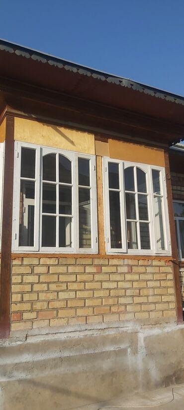 2206 объявлений: Продаю б/у окна деревянные, 3шт со стёклами. Размер высота 157см ×