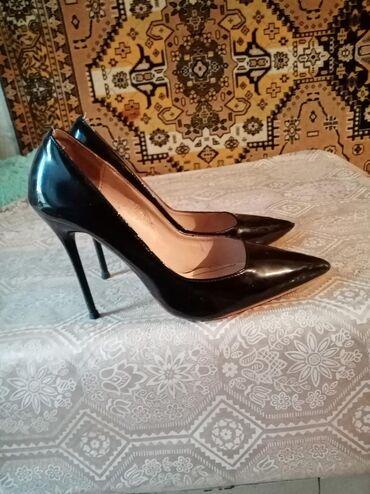 Продаю туфли б/у чёрного цвета 150