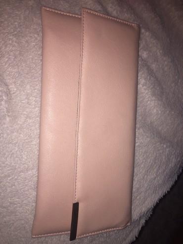 Torbe | Srbija: Pismo torbica,puder roze boje Jednom nosena,bez ostecenja