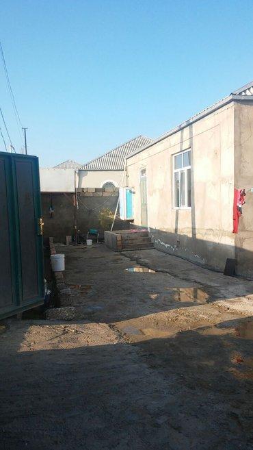 Bakı şəhərində Tecili kupcali ev satilir  ev eses yoldan 200met iceridi 3 sotun icind