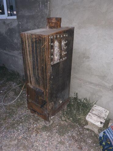 Котел для парового отопления. печка