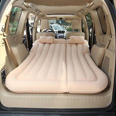 Bu şişme hava yatağı ile araba ile seyahat ederken arabanızda rahatça