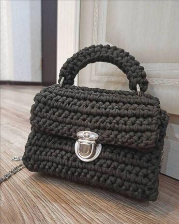 сумка juicy couture в Кыргызстан: Красивые вязанные сумки для красивых девушек. Хорошо подойдёт под