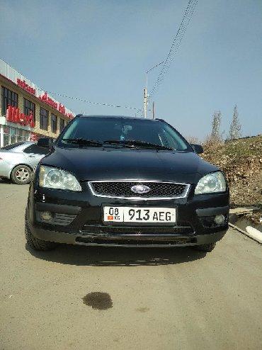 черный ford в Кыргызстан: Ford Focus 1.8 л. 2006   246000 км