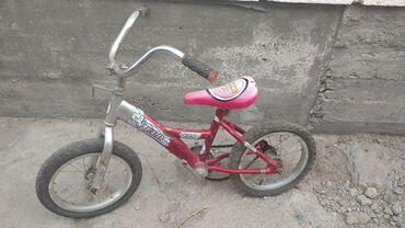 Продам велосипед детский размер колес 14 требует замену цепи она