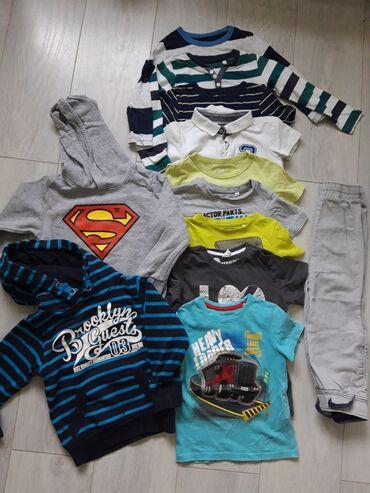 Dečija odeća i obuća - Ruski Krstur: Paket garderobe H&M,C&A veličina 98(3-4godine)