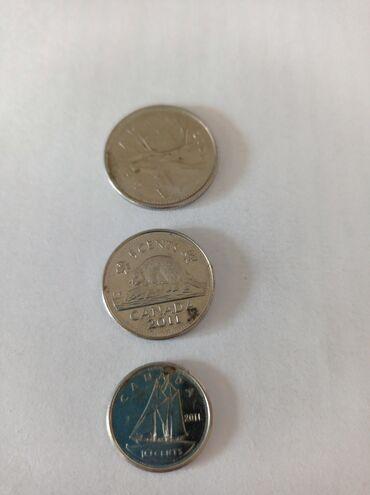 10568 elan | İDMAN VƏ HOBBI: Kanada sentləridir 2006 nın 25 senti2011 in 10 sentu2011 in 5 senti