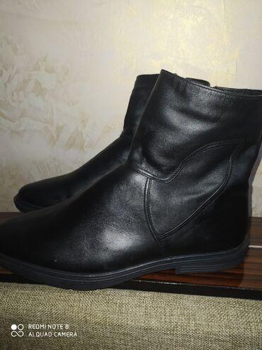 сапоги мужские в Кыргызстан: Продаю новый кожаный Сопаги мужской 42 43 размер 2300 сом или меняю на