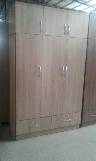 новый трех дверный шфанер высота 2.15 шрина 1.30 глубина 50 доставка  в Бишкек