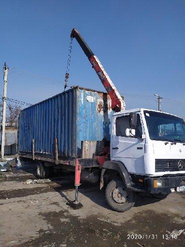транспортные услуги крана манипулятора в Кыргызстан: Манипулятор | Стрела 8 м
