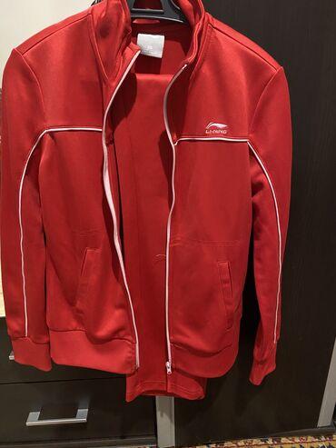 Спортивные костюмы - Кыргызстан: Продаю спортивный костюм Lining носила 2-3 раза брала за тдам за 8000
