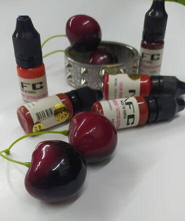 купить протеин бишкек в Кыргызстан: Пигменты для губ. Краски для пигментации. Корейская фирма NFCМашинка