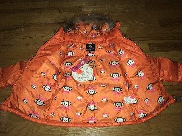 детская куртка зимняя в Кыргызстан: Куртка пуховик, уни- для девочек и мальчиков, наполнитель пух, рукава