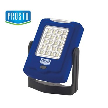 Baterijska lampa PROSTO, sa LED diodama. Kucište sa magnetom, stalkom - Nis