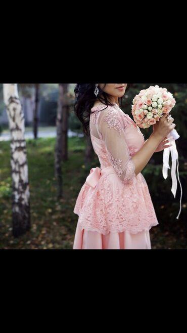 Продаю платье 1800 сом сшито было на заказа за 9000 тысяч ) баска