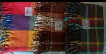 Текстиль - Кыргызстан: Продаю иранский плед. Остался только серого цвета (см. фото). Торг