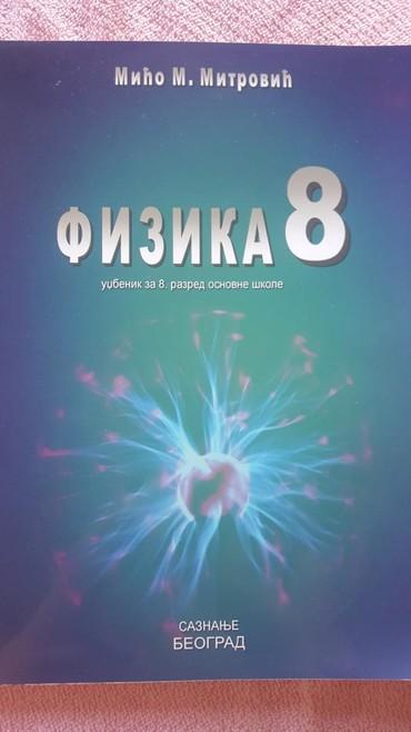 Knjige, časopisi, CD i DVD | Sremska Mitrovica: 8 r. fizika udzbenik saznanje beograd novo