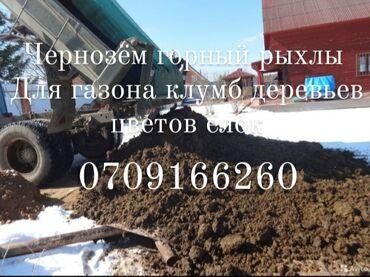 Дёшево Чернозём горный рыхлы без сорняков для посадки газона деревьев