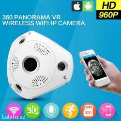 360° панорамная ip камера 1. 3mp. охватить в Bakı