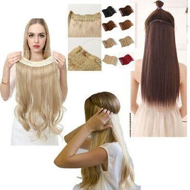 Красота и здоровье - Сокулук: Наращивание волос Remy 100% человеческих волос. Невидимая проволока