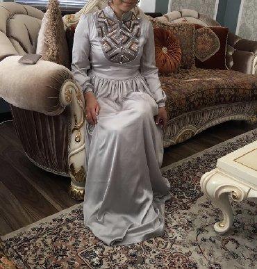 летнее платье трапеция в Кыргызстан: Продаю платье размер m-l, качество люкс, одевала один раз