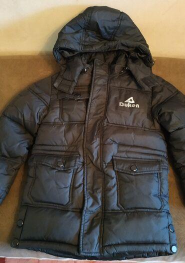 Куртка очень теплая зимняя на возраст 5-6лет.б/у в хорошем
