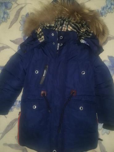 Верхняя одежда в Сокулук: Продаю зимнюю куртку на мальчика возраст 4_5лет в идеальном состоянии