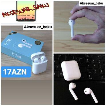 Mobil telefonlar üçün aksesuarlar - Xırdalan: Airpods i11 ENDİRİM etdik SİZLƏR üçünSensorla idarə olunan, İPHONE