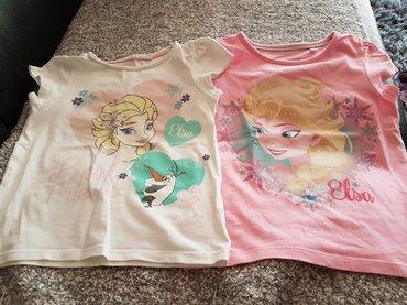 Majice Frozen vel 116 cena za obe - Arandjelovac