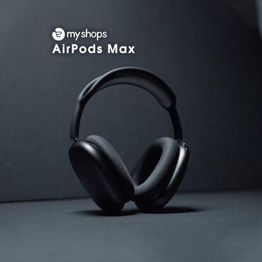 беспроводные наушники в Азербайджан: Airpods maxbluetooth: 5.0особенности: активное шумоподавление