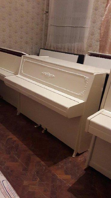 Pianino 850azndən başlayan qiymətlərlə. Cadırılma və köklənmə qiymətə