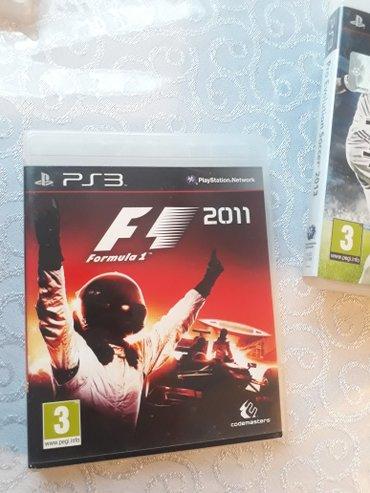 Bakı şəhərində Ps3 üçün tam original oyun diski formula 1... Playstation üçün