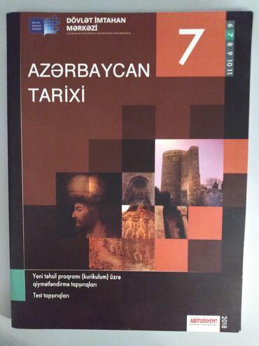 Azerbaycan tarixi 7ci sinif testi DIM. Ici seliqelidir. Yazi